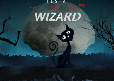 Doces ou Travessuras – Wizard