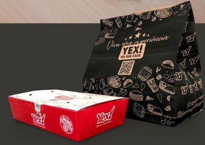 Embalagem Delivery Yex Boliche Steak House